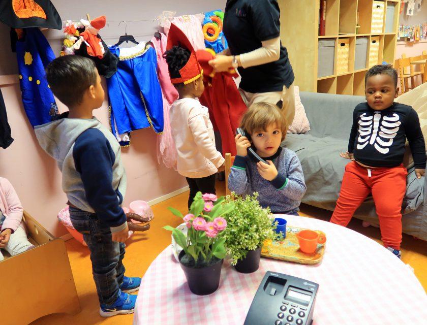 Kinderdagverblijf De Kleurdoos - Kiddoozz kinderopvang Rotterdam Spangen